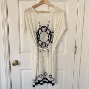 5th & LOVE beach cover up Size M
